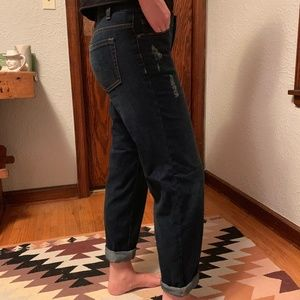 Free People Distressed Boyfriend Jeans * Size 26